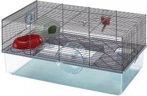 Ferplast Favola Hamster Cage, Black