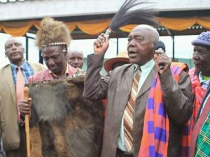 William Ruto ordained as a Kalenjin leader